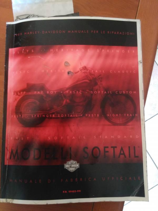 manuale officina per softail 99  modello 1340  marca Harley Shovelhead Engine Harley Shovelhead Engine