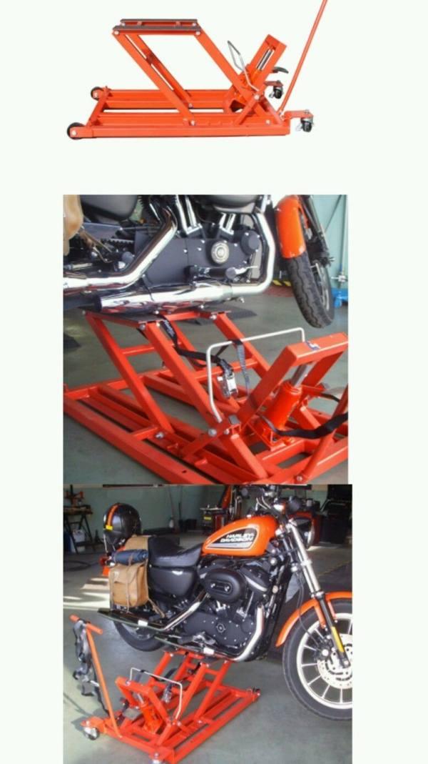 Ponte sollevatore idraulico zd05156 solleva moto quad for Sollevatore harley