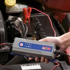 Caricabatterie carica batteria 6v 12v auto moto con for Caricabatterie auto moto lidl