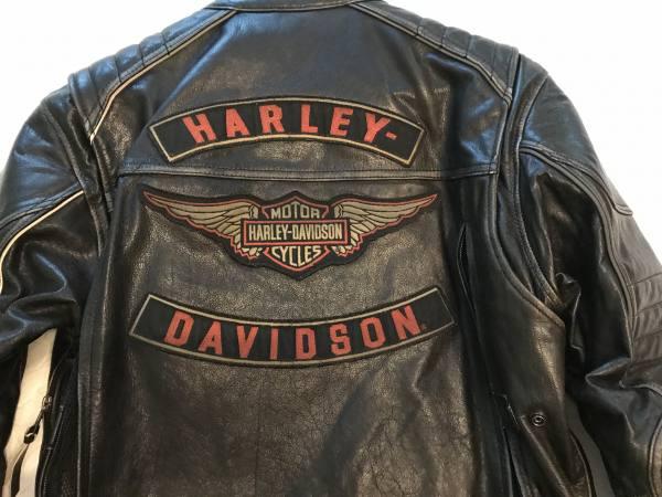 Giubbotto Giacca Pelle Uomo Orig. Harley Davidson Triple Vent System Detonator Distressed Leather Jacket 98076 15VM