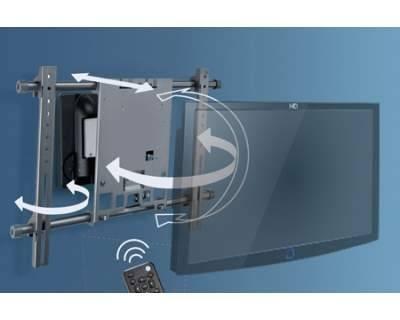 Supporto tv lcd led plasma motorizzato con telecomanda - Supporto tv motorizzato meliconi ...