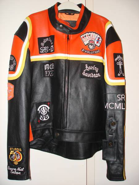 Giacca Harley Davidson & Marlboro Man, marca